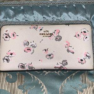 Coach full size wallet